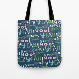 Yahoo Blue Tote Bag