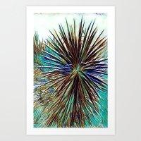Joshua Tree Mintz by CREYES Art Print