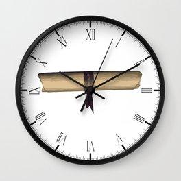 Scroll Wall Clock