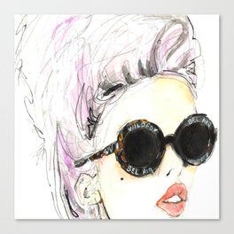 wildfox sunnies  Canvas Print