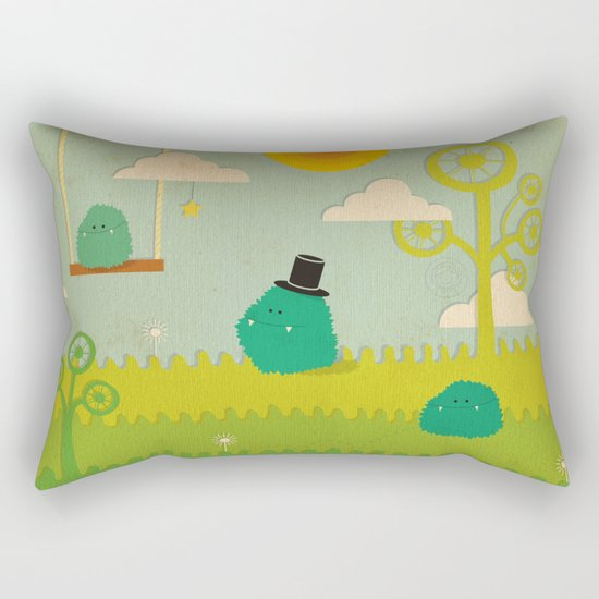 LILLL Monsters Rectangular Pillow