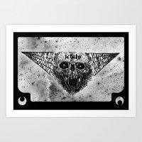 Deth Skull Art Print