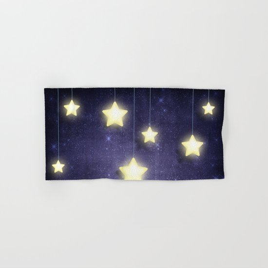 Moon & Stars 02 Hand & Bath Towel