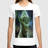 yoda T-shirts featuring Yoda by Robin Curtiss
