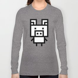 Block Piglet Long Sleeve T-shirt