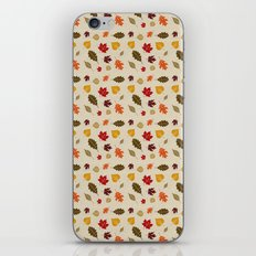 When The Leaves Fall iPhone & iPod Skin
