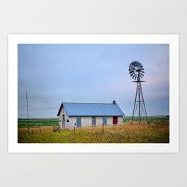 Nebraska Prairie Art Print