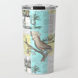 Paris Cockatoo's Colonial Dream Travel Mug