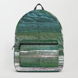 Blue green Backpack