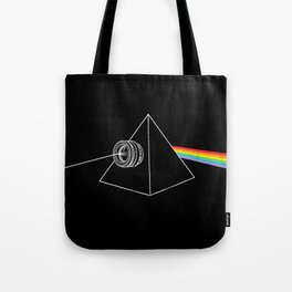 The Dark Side Of The Photo Tote Bag