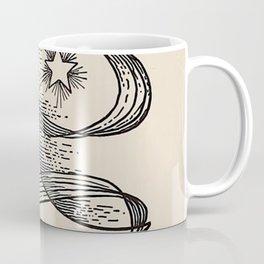 Illustration from Alienist and neurologist - 1919 Magical Moon & Star Coffee Mug