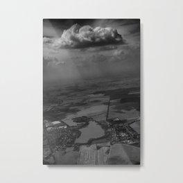 living under the rain cloud Metal Print