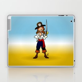 Pirate Girl Laptop & iPad Skin