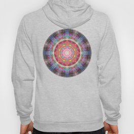 groovy colourful mandala filled with tribal patterns Hoody