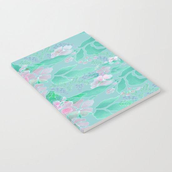 Soft Spring Floral Notebook