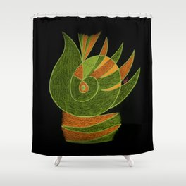 Aurora III Shower Curtain