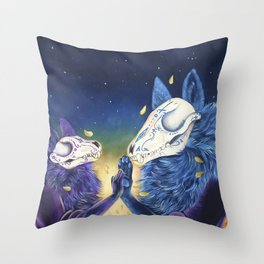 Day of the death Throw Pillow