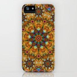 Aztec paisley iPhone Case