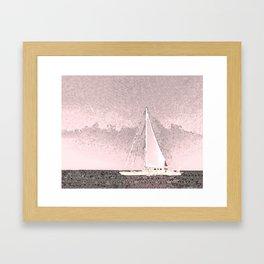 """Sailboat #8"" Art of the Sea by Murray Bolesta Framed Art Print"