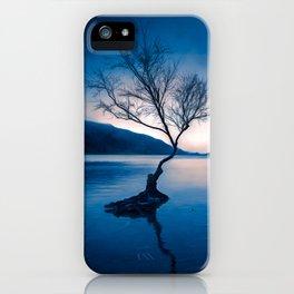 Padarn LakeTree Snowdonia iPhone Case