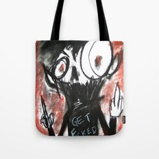Fits of Anger Tote Bag