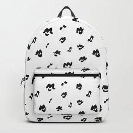 Music Lips Backpack