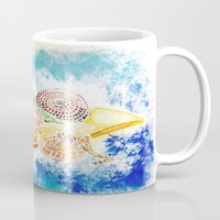 vegetables Mugs featuring Vegetables by Elena_Voro