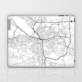 Minimal City Maps - Map Of Syracuse, New York, United States Laptop & iPad Skin