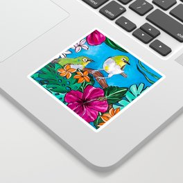 Tropical Tweets Sticker