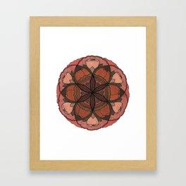 SACRED FLORAL Framed Art Print