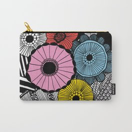 Heart in Flowers, inspired by Marimekko Carry-All Pouch