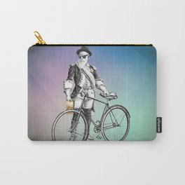 Every weekend I take the fixed gear to the farmers market for Vegan Artisan Granola. Carry-All Pouch