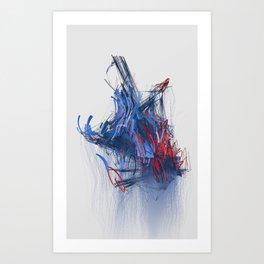 BRU-14/WIP-008 Art Print