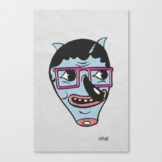 ohai! print Canvas Print