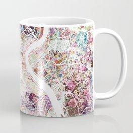 Bordeaux map, france Coffee Mug