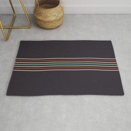 Multicolor Fine Lines Rug