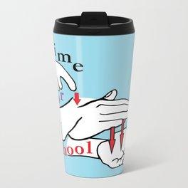 ASL Time for School Travel Mug