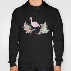 tropical flamingo Hoody