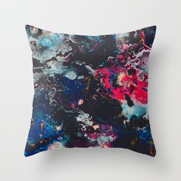 Meet Me in the Cosmos Throw Pillow