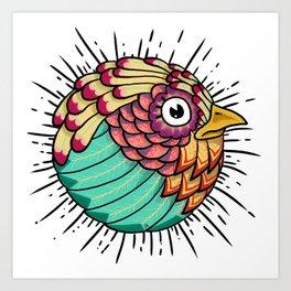 Plumas Art Print