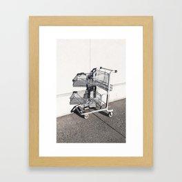 Eschery Cart Framed Art Print