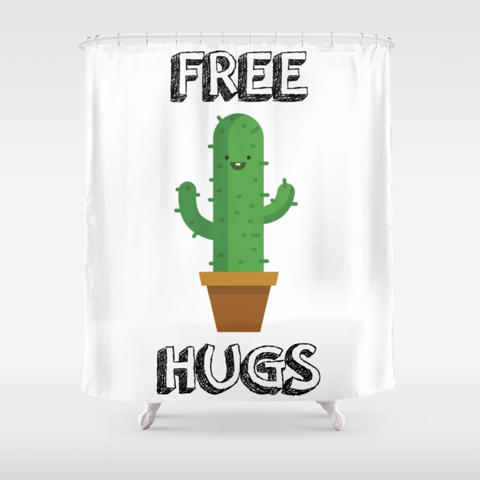 Free Hugs for All! Shower Curtain