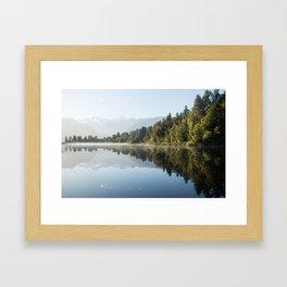 Lake Matheson Framed Art Print