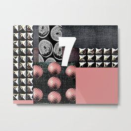 PALE PINK #THE 7 Metal Print