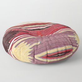Nevsehir Cappadocian Central Anatolian Kilim Print Floor Pillow