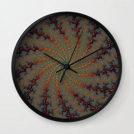 Tunnel Vision - Fractal Art Wall Clock