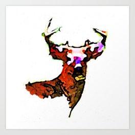 Dear. Deer.  Art Print