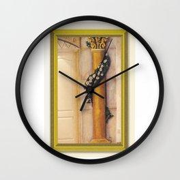 Roman Column Wall Clock