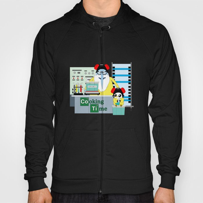 Icekingberg (AdventureTime+BreakingBad) Hoody