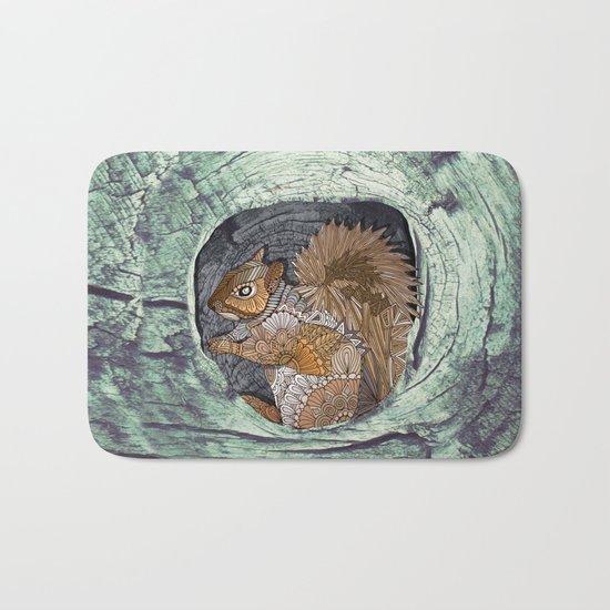Woodland Squirrel Bath Mat